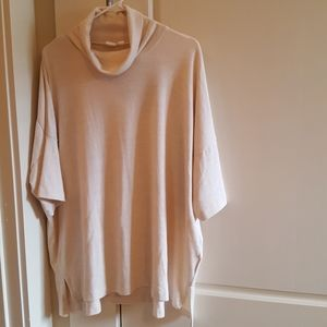 Gap short sleeve cowl neck top